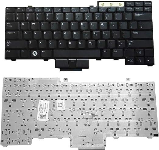 TLfyajJ sustitución Teclado Americana para DELL E6400/E6500/E6410/E6510/M4500/0uk717/UK717 Keyboard