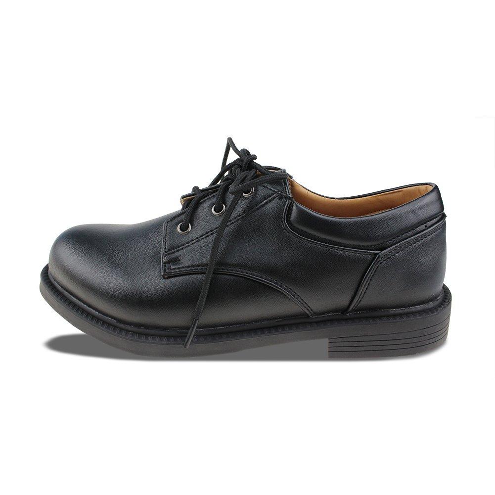 Chiximaxu Maxu Boys Wingtip Leather Flats Classic Oxfords