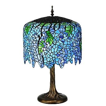 28 h tiffany wisteria table lamp amazon 28quot h tiffany wisteria table lamp aloadofball Image collections