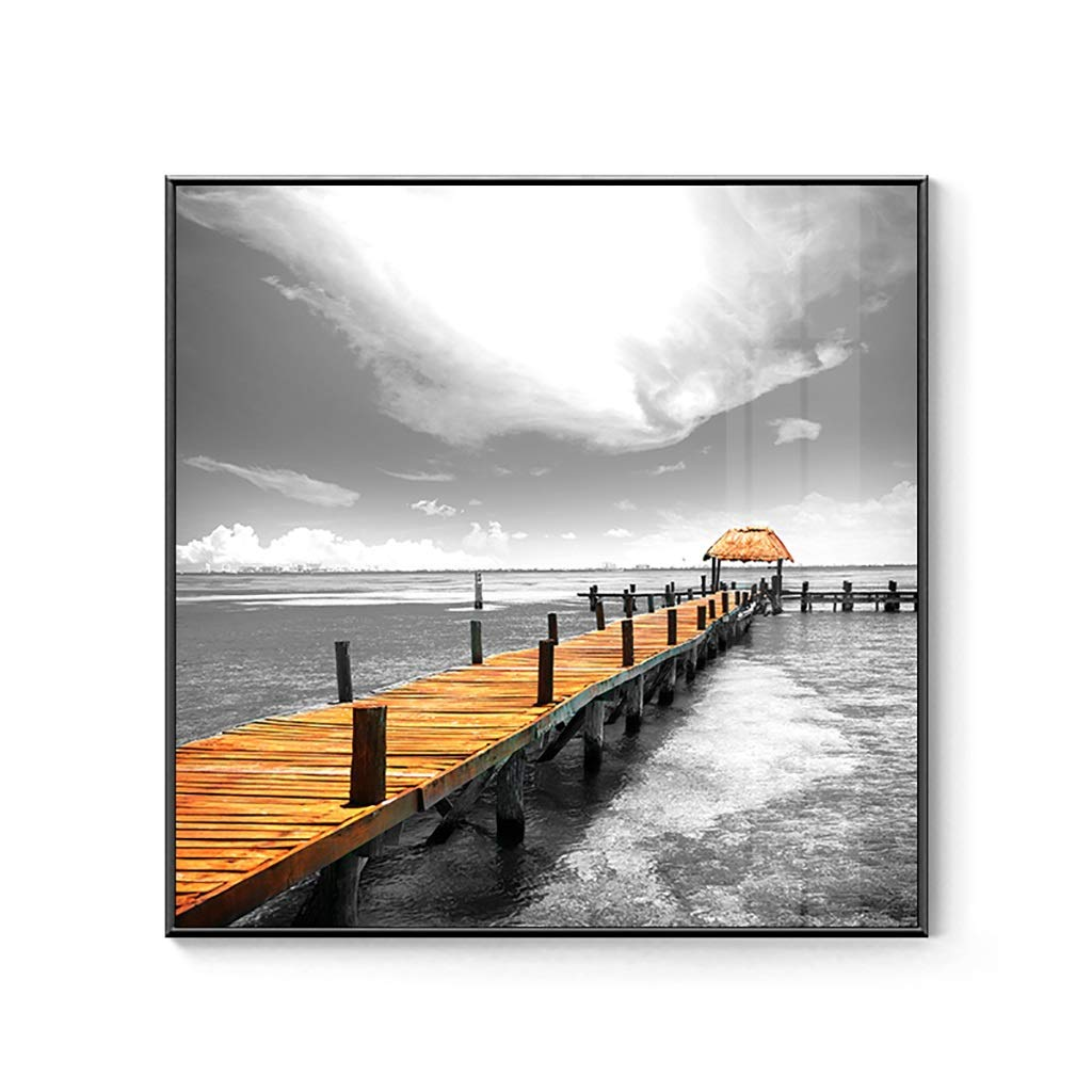 WENJUN Wall Art Picture Nordic Poster Photo Canvas Prints Wall Art Painting For Room Minimalist Decoration Prints On Canvas,6 colors,5 Sizes ( color   A , Size   4040cm )