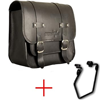 au/ßer XR-Modelle rechte Seite Buffalo Bag. 1995-2015 Satteltaschenhalterung Sportster Modelle