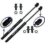 Two Rear Glass Gas Charged Lift Supports For 98-04 Isuzu Rodeo, 01-03 Isuzu Rodeo Sport, 98-02 Honda Passport, 99-00 Isuzu Amigo. Left and Right Side. WGS-199-2