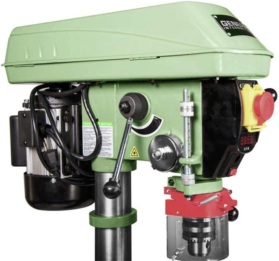 12 Green General International 75-010 M1 Power Products Bench-Top Drill Press