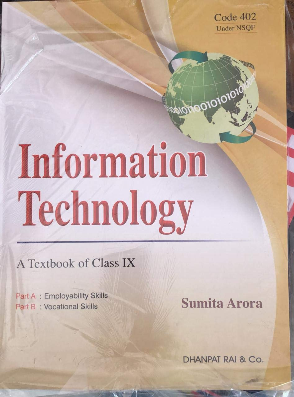Information Technology A Textbook Of Class 9th: Amazon in