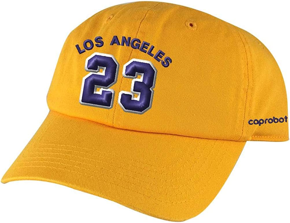 LAbron Los Angeles Lakers Lebron James 23 Embroidered Strap Back Hat Cap