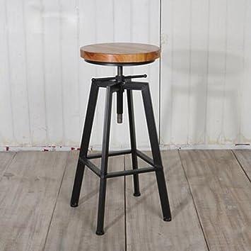 Amazon De Nimm Einen Stuhl Schmiedeeisen Bar Tisch Bar Stuhl Mode