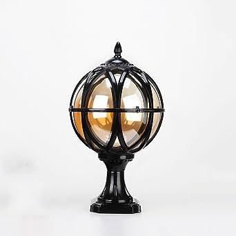 Noilyn- Extérieur En Aluminium Globe Paysage Luminaire Européenne ...
