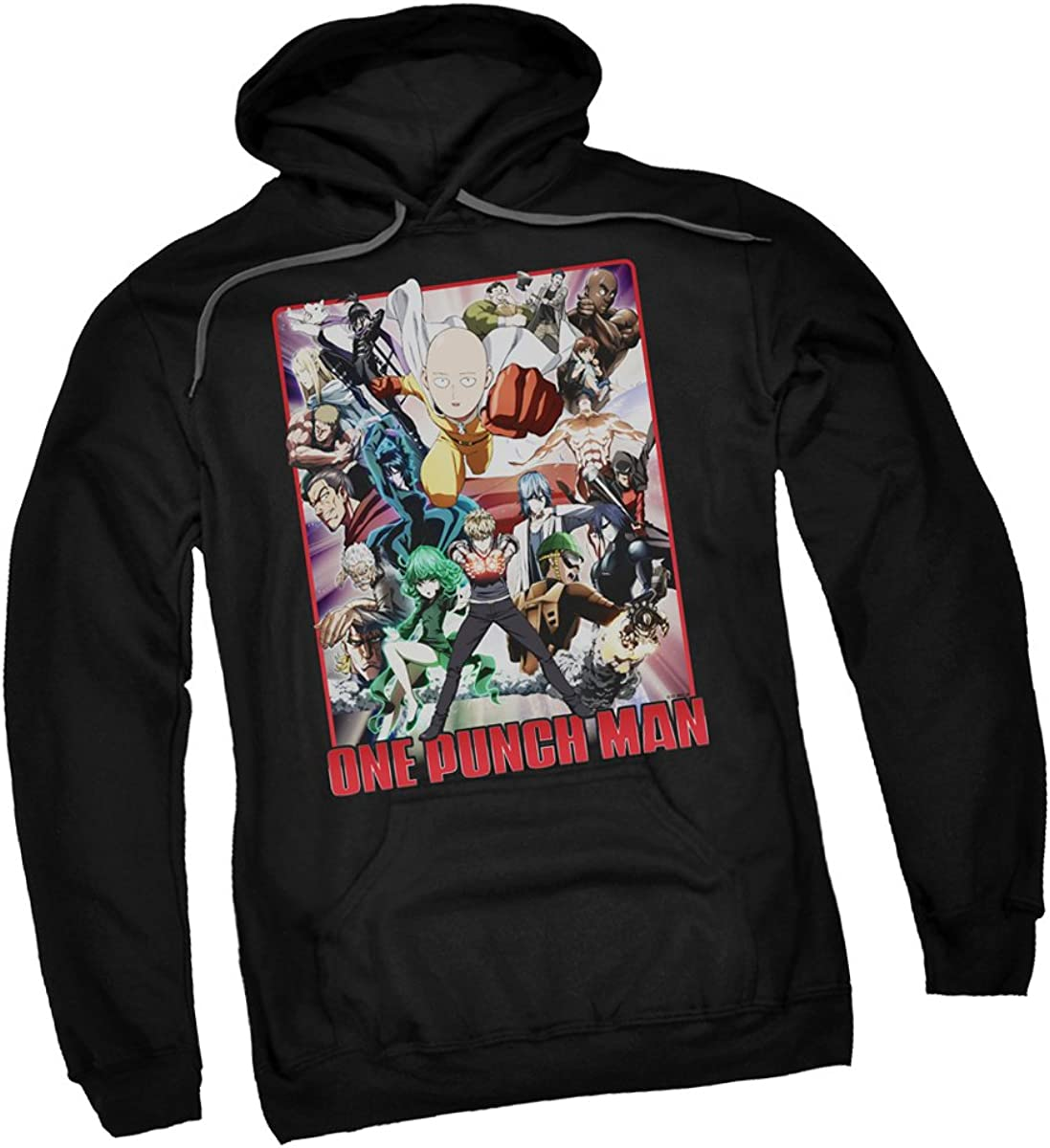 One Punch Man Cast Of Characters Adult Hoodie