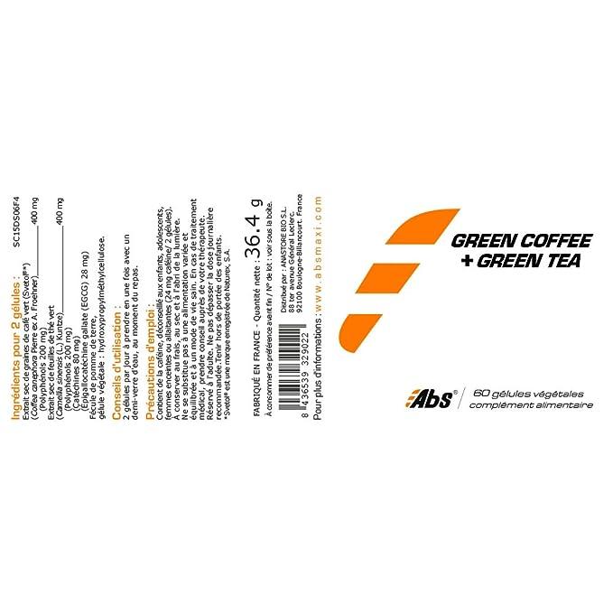 CAFÉ VERDE (Svetol®) + TÉ VERDE * Eficacia probada ...