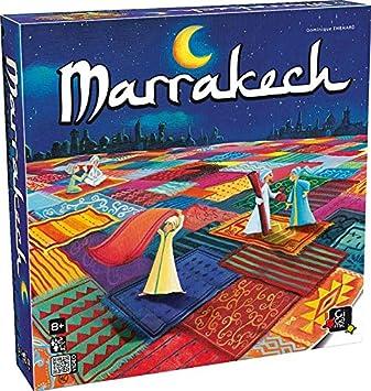 GIGAMIC MAR Marrakech - Juego de Mesa (de 2 a 4 Jugadores ...