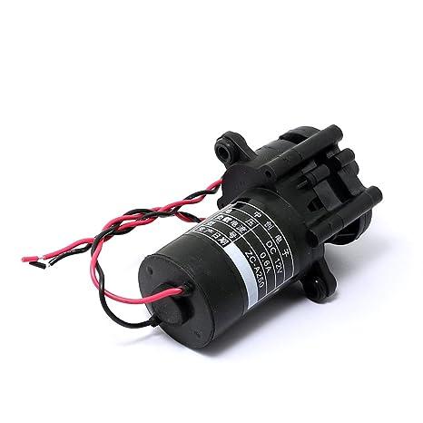 0-100℃ 12V ZC-A210 Mini Kunststoff Zahnradpumpe selbstsaugende Wasserpumpe