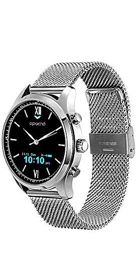 Epoché - Reloj híbrido para hombre con tecnología Smartwatch. Modelo: Milanés: Amazon.es: Relojes