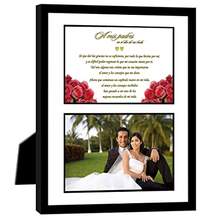 Wedding In Spanish.Amazon Com Poetry Gifts Parents Thank You Wedding Gift In Spanish