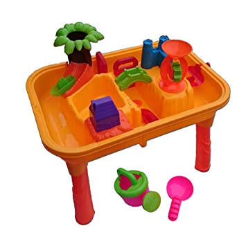 Beach Kinder Wassertisch Spieltisch Sandkasten Wasserspielzeug ...