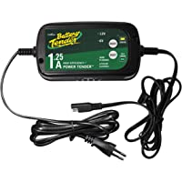 BATTERY CHARGER POWER TENDER™ SELECTABLE 6V / 12V 0.8A 17,2 CM X 9,3 CM X 4,9 CM BLACK