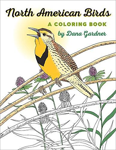 North American Birds: A Coloring Book (Bur Oak (North American Game Birds)