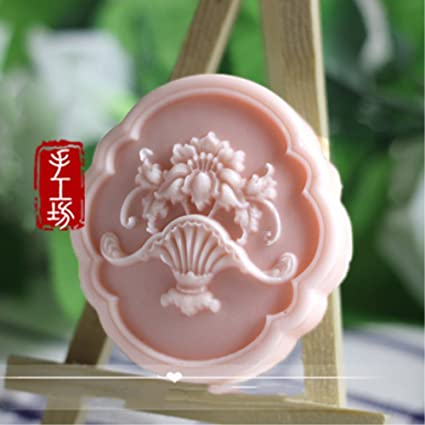 Flower Silicone Soap Bar Mold Candle Mold DIY Craft Plaster Resin Wax Mold