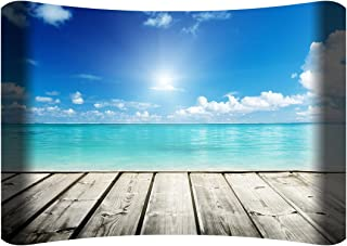 """product image for Next Innovations 36"""" X 24"""" Hd Curved Wall Art View from Dock Home Decor"""