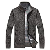 Product review for Shengweiao Men's Zip Knitted Cardigan Sweater