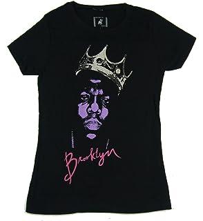 1b05f25ff Notorious Big Women s Biggie Crown Face T-Shirt at Amazon Women s ...