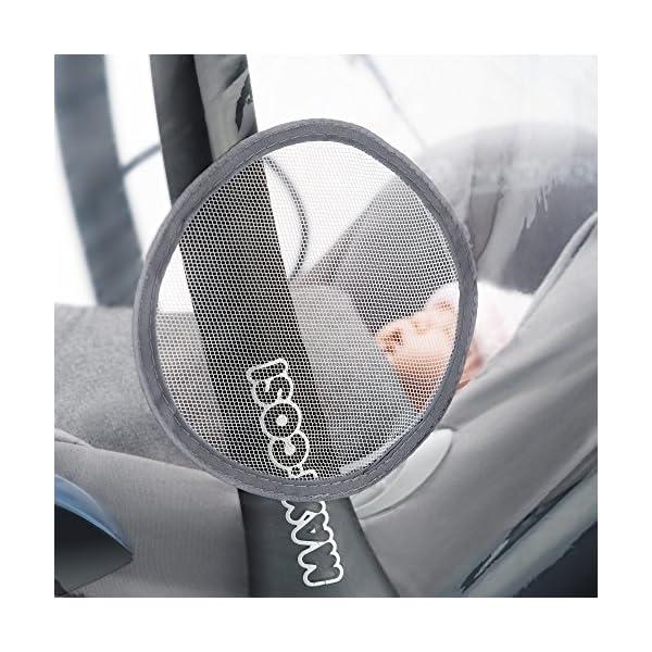 Parapioggia universale comfort per ovetto e seggiolino auto (p. es. Inglesina, Bébé Confort) - buona circolazione dell… 4