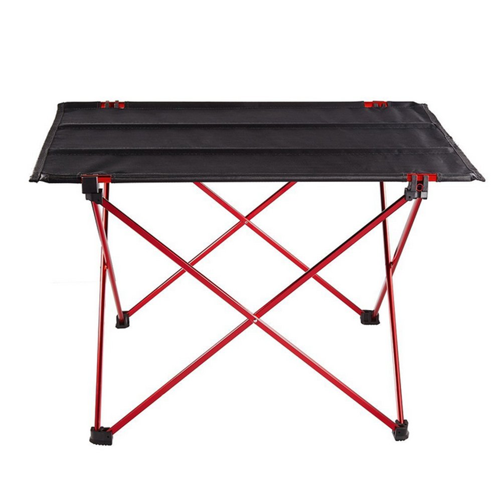JHKIDS Picnic Table Camping Folding Desk Lightweight Roll Up Portable Dining Table with Storage Bag Outdoor