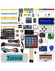 Freenove RFID Starter Kit V2.0 with UNO (Compatible with Arduino IDE) (Black Board), 266 Pages Detailed Tutorial, 198 Items, 49 Projects, Learn Programming and Electronics