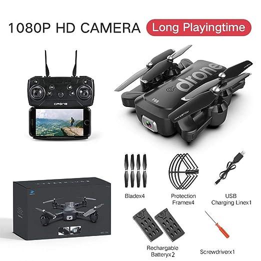 Drone Plegable Fotografía Aérea 4K HD Cámara Dual FPV Control ...
