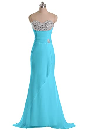 Dingzan Mermaid Wedding Reception Dresses For Bride Prom Gowns Long