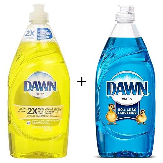 DAWN Ultra Lavavajillas Líquido Lemon Scent 532 ML + Dawn Ultra ...