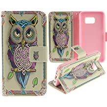 Juzi S7 Case, Galaxy S7 Case, Wallet Purse Type PU Leather Samsung Galaxy S7 Case with Cellphone Holder Credit Card Slots Flip Cover