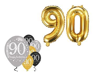 Fija celebran Cumpleaños Decoración para 90 cumpleaños I 8 ...