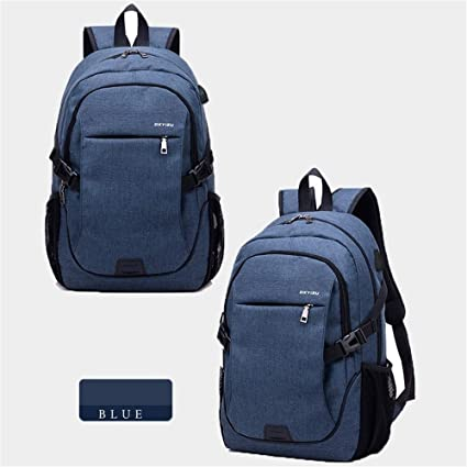 276c0762d3f1 Image Unavailable. Image not available for. Color  15.6 Inch Outdoor  Backpack Smart USB Charging ...