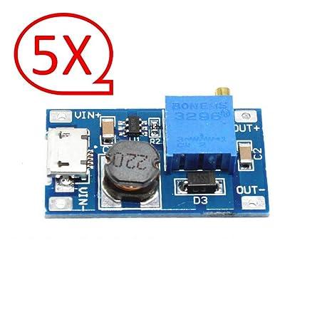 Booster Step Up 2V-24V To 5V-28V For Power Apply Module Power Supplies