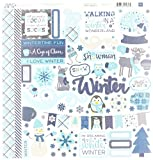Echo Park Paper Company Hello Winter Collection Kit, 12 x 12''