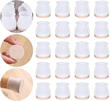 Silicone Wear-resistant Anti-slip Pad Floor Protector Chair Leg Caps Table pads
