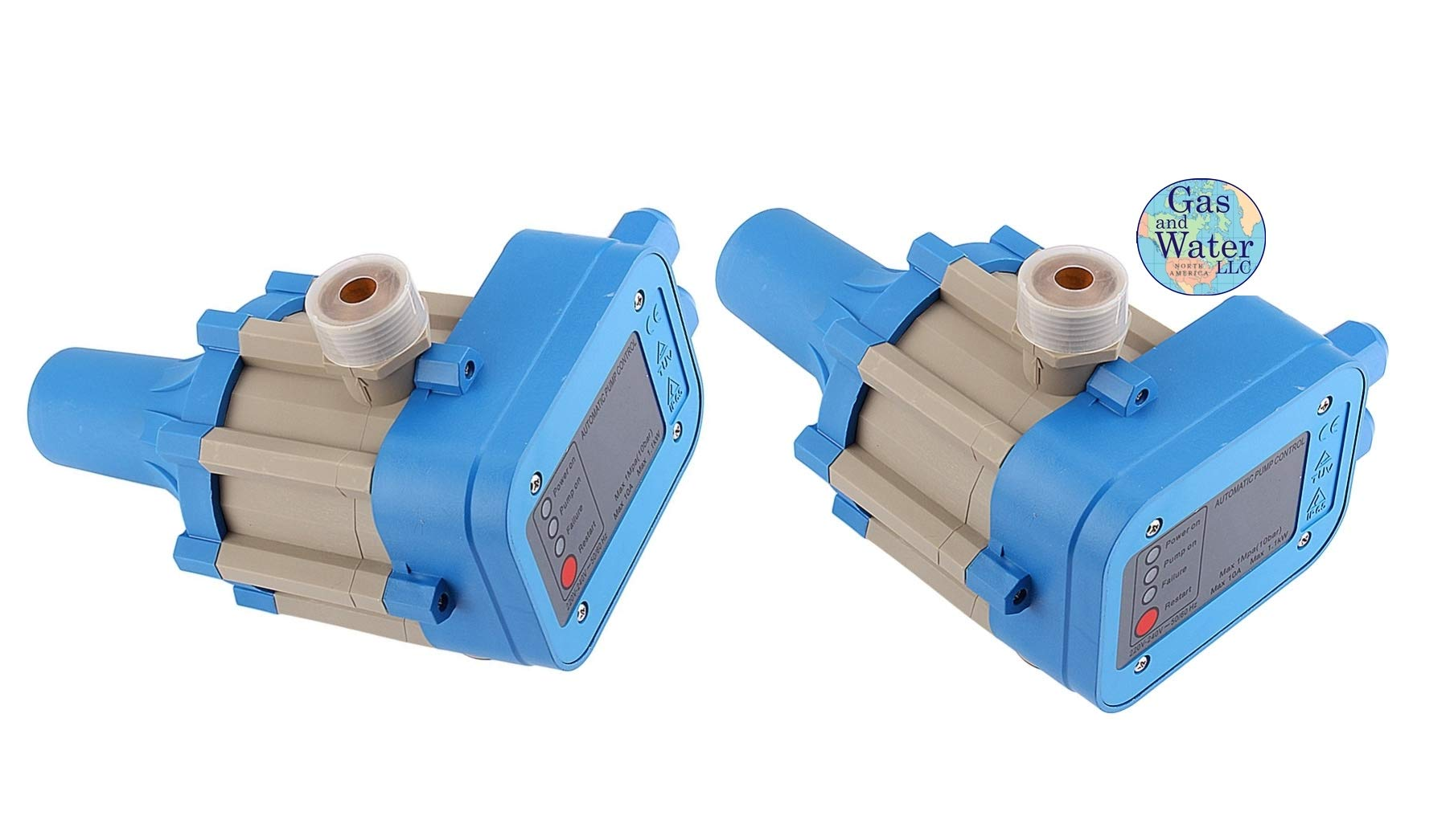 Lot of 2 Automatic Electronic Switch Control Water Pump Pressure Controller 110 or 220V (works for both)