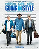 GOING IN STYLE (2017) Original Authentic Movie Poster 27x40 - Double - Sided - Morgan Freeman - Michael Caine - Alan Arkin