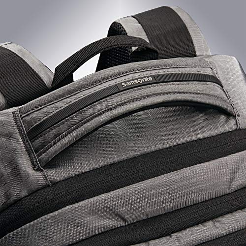 61ighNakiwL - Samsonite Tectonic Lifestyle Easy Rider Business Backpack, Steel Grey, One Size