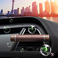 Car Air Freshener Wood Scent Perfume Vent Clip Fragrance Smell Diffuser Automobiles Interior Air Purifier Aroma Odor Freshener