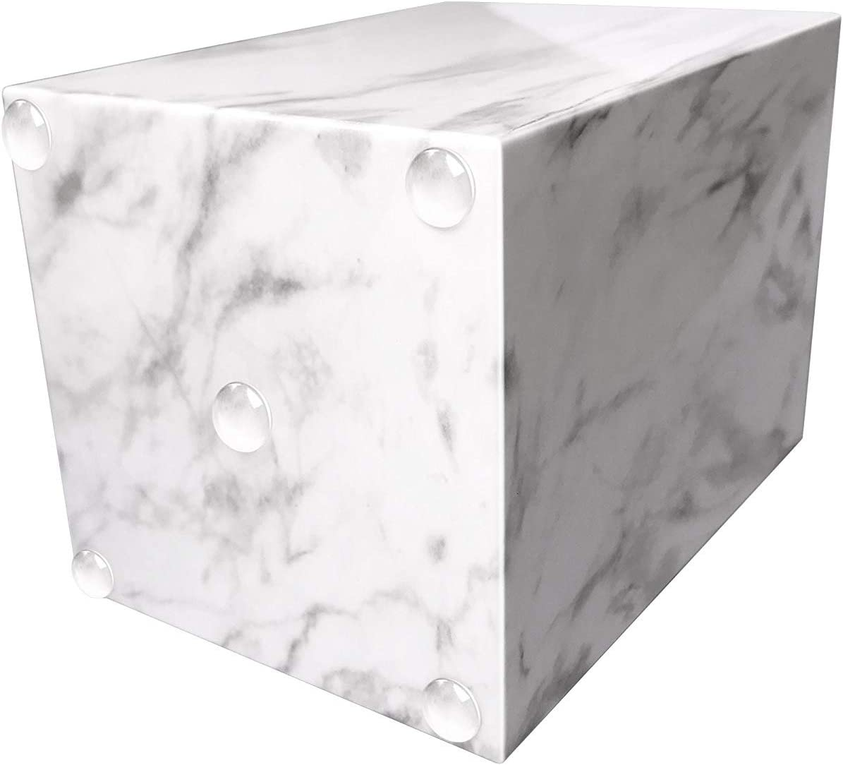 UNIQOOO Portapenne con design moderno alla moda ideale per luso quotidiano in ufficio aula casa stampa marmo
