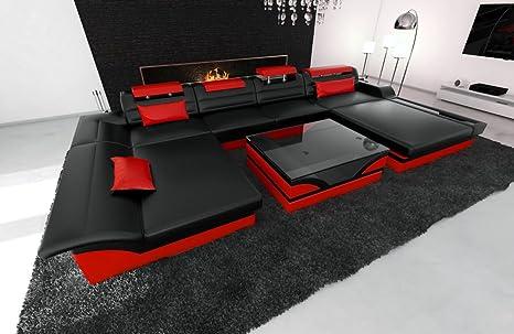 Sofa Dreams Cuero Conjunto de Muebles para Salón Monza en ...