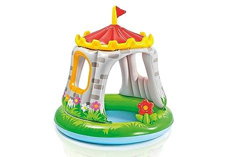 MIYA Piscina Inflable para Niños Creative Castle, Cubierta para ...