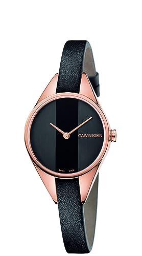 Calvin Klein REBEL K8P236C1 Reloj de Pulsera para mujeres: Amazon.es: Relojes