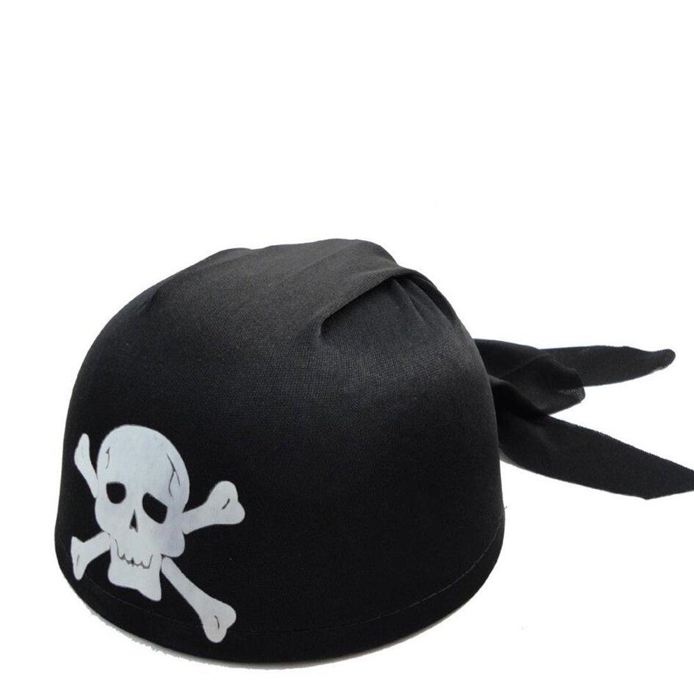 FengYun Runder Piratenkappe Kapit/än Halloween-Sch/ädelhut-Piratenhut der Halloween-Hut der Kinder