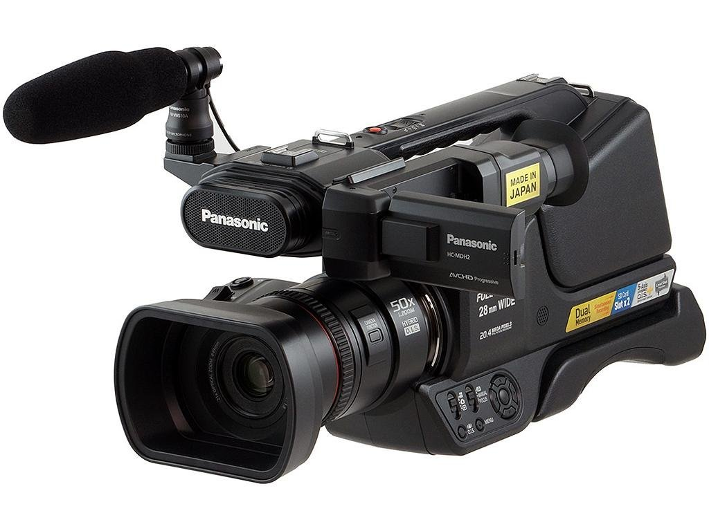 Panasonic HC-MDH2 AVCHD HCMDH2 Shoulder Mount Camcorder (PAL)
