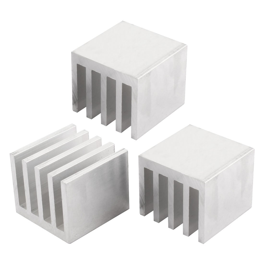 3PCS 35x35x30mm Aluminum Heatsink Cooling for LED Power Memory Chip by uxcell (Image #1)