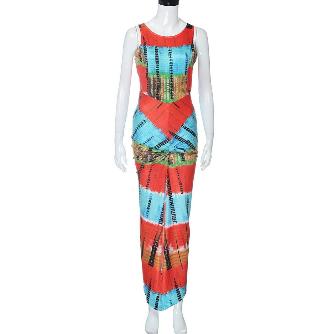 BEAUTYVAN Women African Bodycon Dresses Bohemian Traditional Ethnic Print Club Midi Dress Casual Party Dresses