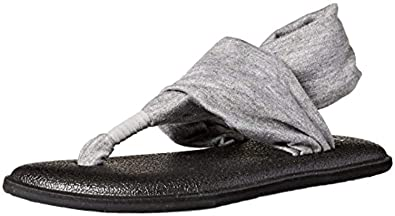 Amazon.com | Beach Bundle: Sanuk Yoga Sling Bling Sandal ...
