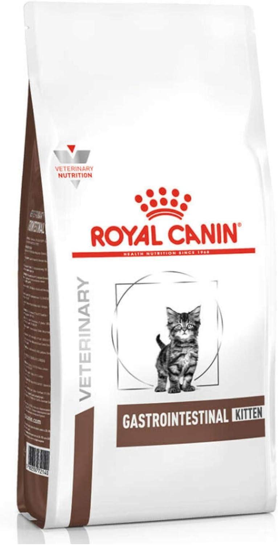 ROYAL CANIN Feline Gastro INTESTINAL Kitten 400G, Negro, Estandar